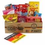 """Ostpaket """"Süße Verführung klein"""" mit 14 typischen Produkten der DDR"""