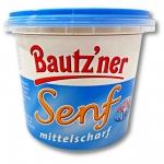 3er Pack Bautzner Senf mittelscharf im Becher (3 x 200 ml)