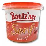 Bautzner Senf scharf im Becher 3er Pack (3 x 200 ml)