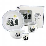 "Kindergeschirr 5-teilig ""Panda"""