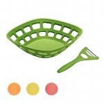 2-teiliges Set Magu Obstkorb mit Universalschäler