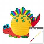 "Set Laterne ""Dino"" inkl. 50 cm LED Laternenstab"