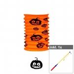 "Set Laterne ""Halloween"" inkl. 50 cm LED Laternenstab"