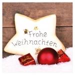 """Geschenkkarte """"Frohe Weihnachten"""" Stern"""