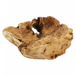 Wurzelholz Schale Rustika natur ca. 30 x 30 x 9 cm