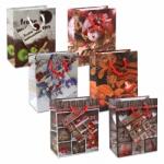 """12er Pack Geschenktüten Weihnachten """"Hüttenzauber"""" klein"""