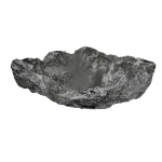 Wurzelholz Schale Rustika blackwashed ca. 30 x 30 x 9 cm