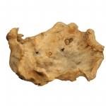 Wurzelholz Schale Rustika länglich natur ca. 40 x 30 x 9 cm