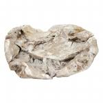 Wurzelholz Schale Rustika länglich stonewashed ca. 40 x 30 x 9 cm
