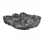 Wurzelholz Schale Rustika groß blackwashed ca. 40 x 40 x 12 cm