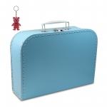 Kinderkoffer blau inkl. 1 Reflektorbärchen