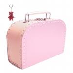 Kinderkoffer rosa inkl. 1 Reflektorbärchen