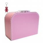 Kinderkoffer pink inkl. 1 Reflektorbärchen