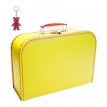 Kinderkoffer gelb inkl. 1 Reflektorbärchen
