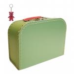 Kinderkoffer hellgrün inkl. 1 Reflektorbärchen