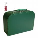 Kinderkoffer dunkelgrün inkl. 1 Reflektorbärchen