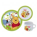 P: OS Handels GmbH Kinderset Frühstücksset 3-teilig Winnie POO68934
