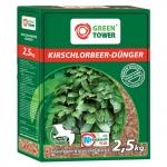 Greentower Kirschlorbeer-Dünger mit Guano GT 2,5 KG
