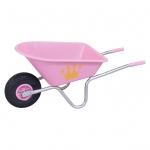 Greentower Kinderschubkarre Maxi Pink Krone 168