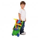 STARPLAST Kinder-Gartentrolley Kinder Garten Trolley 9 TLG. 59-509